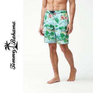 Tommy Bahama  Men's Surf 9-Inch Board Shorts NWT